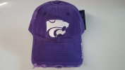 New Kansas State Wildcats Purple Pre-Ripped Buckle Hat