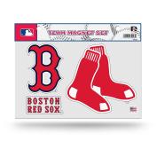 MLB Boston Red Sox Team Magnet Set, One Size