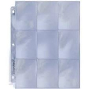 SPORTS CARD HOLDER-3 PACKAGES OF 8 PAGES EACH