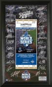 KC Royals 2015 World Series Signature Ticket