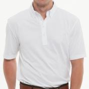 Johnnie-O JMPO1180WHTE Bond Mens Polo Shirt - White Large
