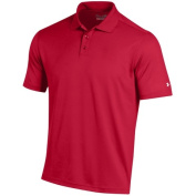 Under Armour UM0494-555 Mens Performance Polo T-Shirt - Red Extra Large