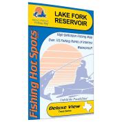 Fork Reservoir Fishing Map, Lake