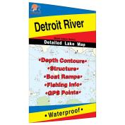 Detroit River Fishing Map