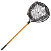 Wakeman Fishing Retractable Rubber Landing Net with 90cm Handle