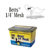 Betts 1.2m Mono Bait Cast Net with Lead Weight and 0.6cm Mesh