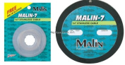 Malin 7-Strand Stainless Steel 90m Wire, .021-Diameter