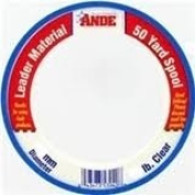 Ande PCW50-150 Monofilament Leader Material, 40-Yard Spool, 70kg Test, Clear Finish