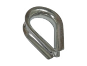 """1/2"""" (12mm) Stainless Steel Chain Thimble for Boat Anchoring - Five Oceans"""