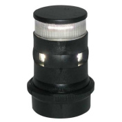 Aqua Signal Masthead/Anchor LED Navigation Light with Black Housing