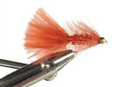 Crimson Bead Head Woolly Bugger by Wild Water, Size 10, Qty. 3