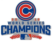 2016 CHICAGO CUBS COLLECTIBLE PIN WORLD SERIES CHAMPIONS LTD. EDITION PIN