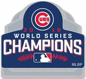 2016 CHICAGO CUBS WORLD SERIES CHAMPIONS 3D STYLE PIN