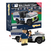 MLB New York Yankees Buildable Ballpark Cart, Small, White