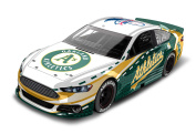 Oakland A's Major League Baseball Hardtop Diecast Car, 1:64 Scale