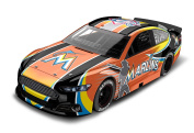 Miami Marlins Major League Baseball Hardtop Diecast Car, 1:64 Scale