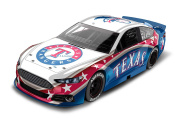 Texas Rangers Major League Baseball Hardtop Diecast Car, 1:64 Scale