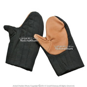 Mediaeval Gears Brand Mediaeval Armour Padded Protector Heavy Duty Cotton Mitten Gauntlet Glove SCA LARP