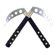 Black Studded Competition Kamas - 25cm long
