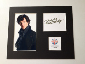 LIMITED EDITION BENEDICT CUMBERBATCH FULLY SIGNED DISPLAY PRINTED AUTOGRAPH AUTOGRAPH AUTOGRAF AUTOGRAM SIGNIERT SIGNATURE MOUNT FRAME
