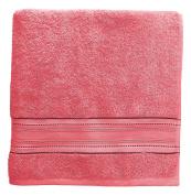 Santens sc00243800 Minimix Coral Cotton Bath Towel 150 x 103 cm