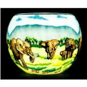 Benaya Elephant Family Tealight Holder