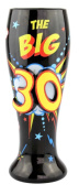 Top Shelf 30th Birthday Beer Glass - holds 700ml
