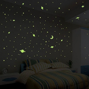 Sticker Univers 150 Glow in the Dark Stars and Planets