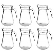 Argon Tableware 'Brocca' Glass Water / Cocktail / Pitcher Jug - 1480ml (52oz) - Pack Of 6