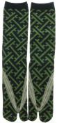 Japanese Samurai Ninja Tabi Socks; Tatami Pattern
