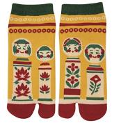 Japanese Samurai Ninja Tabi Socks; Japanese Dolls