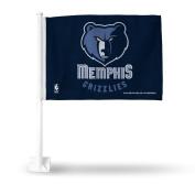 Memphis Grizzlies NBA Licenced 11X14 Window Mount 2-Sided Car Flag