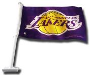NBA Los Angeles Lakers Car Flag