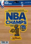 Golden State Warriors 2015 NBA Champions 13cm Vinyl Die Cut Decal Sticker Emblem NBA Basketball Championship
