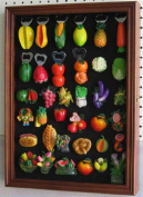 Refrigerator/Souvenir / Sports Magnets Display Case Wall Shadow Box Cabinet, MAG1-WA