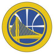 FANMATS 21339 NBA - Golden State Warriors Mascot Mat, Team Colour, 0.9m x 1.2m