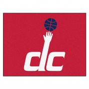 FANMATS 19481 90cm x 110cm Team Colour NBA - Washington Wizards All-Star Mat