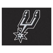 FANMATS 19475 90cm x 110cm Team Colour NBA - San Antonio Spurs All-Star Mat