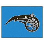 FANMATS 19465 90cm x 110cm Team Colour NBA - Orlando Magic All-Star Mat