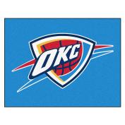 FANMATS 19463 90cm x 110cm Team Colour NBA - Oklahoma City Thunder All-Star Mat