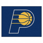 FANMATS 19444 90cm x 110cm Team Colour NBA - Indiana Pacers All-Star Mat