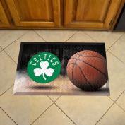 FANMATS 19066 Team Colour 48cm x 80cm Boston Celtics Scraper Mat