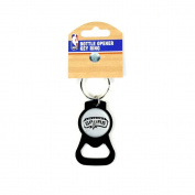 San Antonio Spurs Bottle Opener Keychain - The Blackout Series
