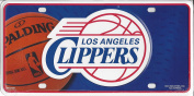 Los Angeles Clippers 75001 Metal Tag Licence Plate NBA Basketball