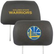 FANMATS 20323 NBA - Golden State Warriors Head Rest Cover, Team Colour, 25cm x 33cm