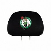 Boston Celtics Auto Headrest Covers Set of Two NBA