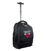 NBA Chicago Bulls Expedition Wheeled Backpack, 48cm , Black