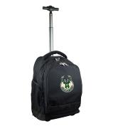 NBA Milwaukee Bucks Expedition Wheeled Backpack, 48cm , Black