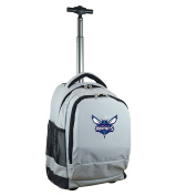 NBA Charlotte Hornets Expedition Wheeled Backpack, 48cm , Grey