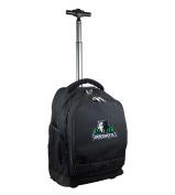 NBA Minnesota Timberwolves Expedition Wheeled Backpack, 48cm , Black